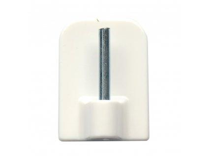Háček vitrážní samolepící bílý  CZ (odběr bal.10ks)