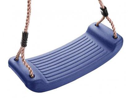 Houpačka plastový sedák 43x17x8,5cm 70kg  ABELLA modrá