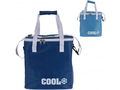 Chladící taška na zip 29x31x21cm 18L, mix barev
