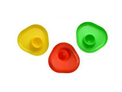 Kalíšek na vajíčko plast  CZ, mix barev