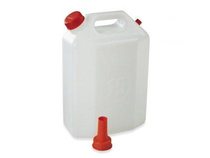 Kanystr 30L plast s nálevkou, atest potraviny