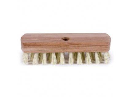 Kartáč na podlahu dřevo na hůl, hrubý závit 4224/861 GECO