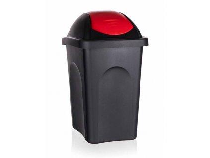 Koš odpadkový výklopný 30L  MULTIPAT červený