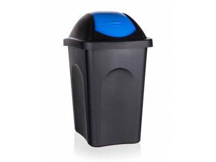 Koš odpadkový výklopný 30L  MULTIPAT modrý