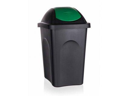 Koš odpadkový výklopný 30L  MULTIPAT zelený