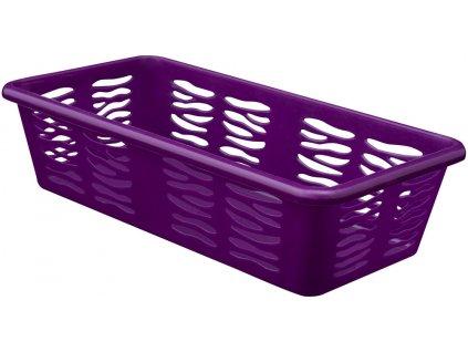 Košík PH 19,7x10x5cm ZEBRA fialová