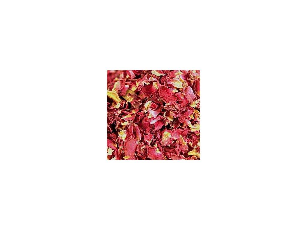 Růže sušené lístky květů 50g