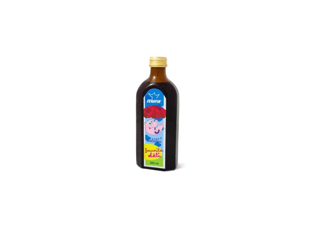 Čajový koncentrát IMUNITA DĚTÍ 250 ml