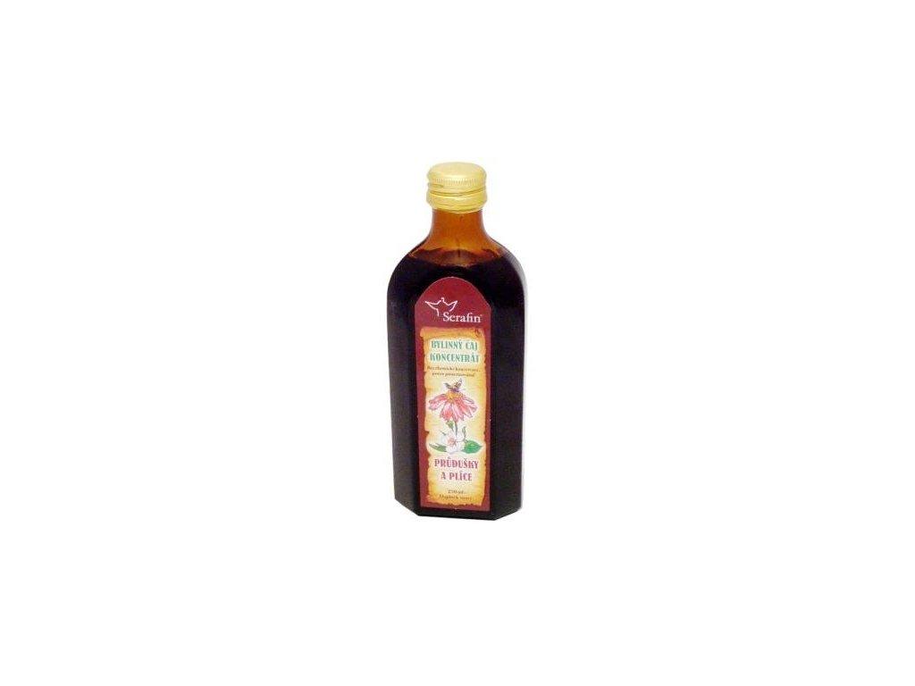 Čajový koncentrát PRŮDUŠKY A PLÍCE 250 ml
