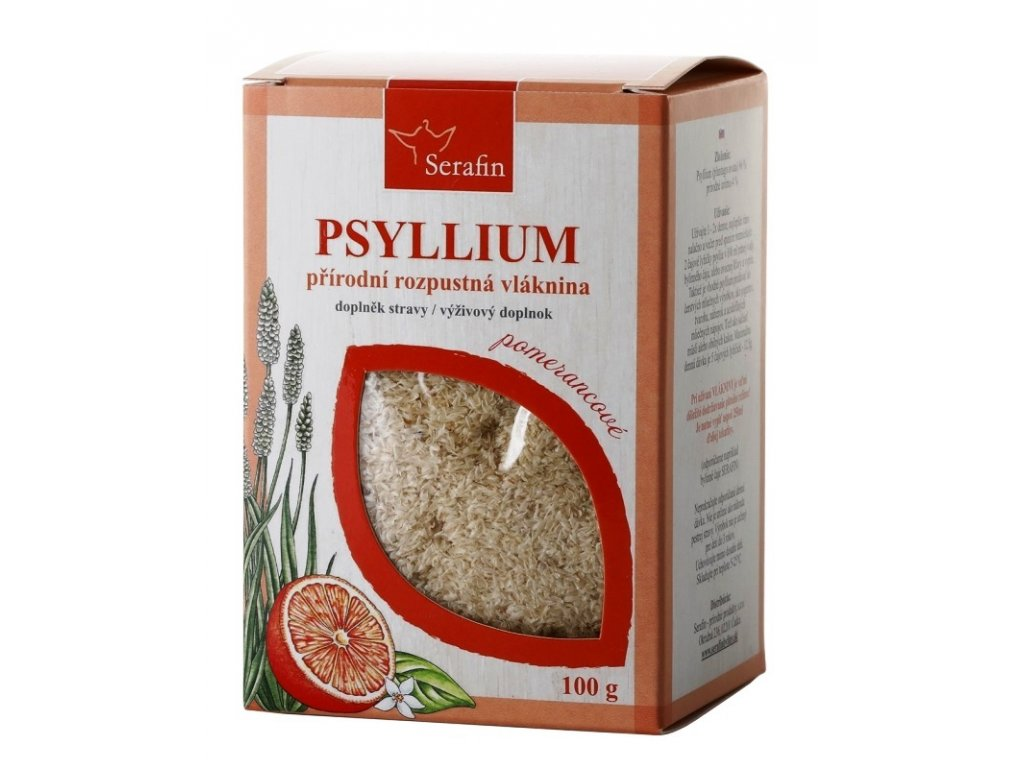 psyllium pomeranč