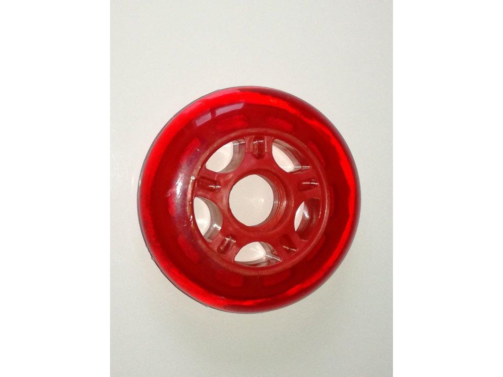 Inline kolečka MODA BASIC červené 80 mm / 82A