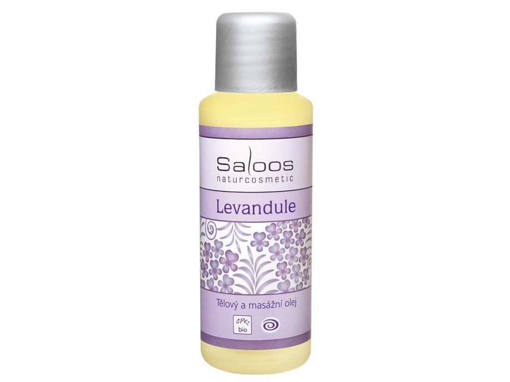SALOOS Levandule tělový a masážní bio olej 50 ml