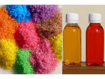 Big sada koupelových solí 15 kg 6 barev
