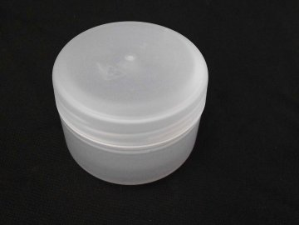 Kosmetická doza 50 ml dvouplášťová natural