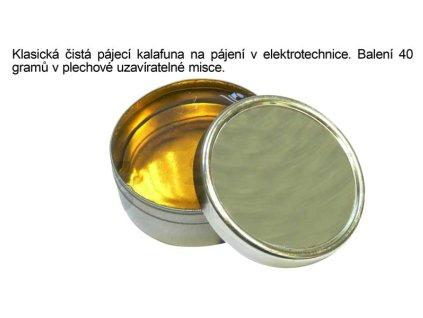 Kalafuna na pájení 40 gramů