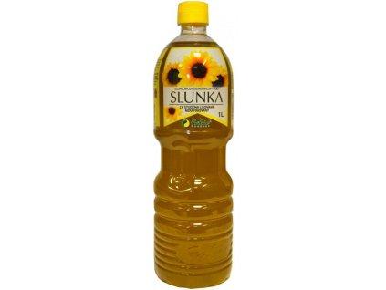 Slunečnicový olej lisovaný za studena SLUNKA 1000ml