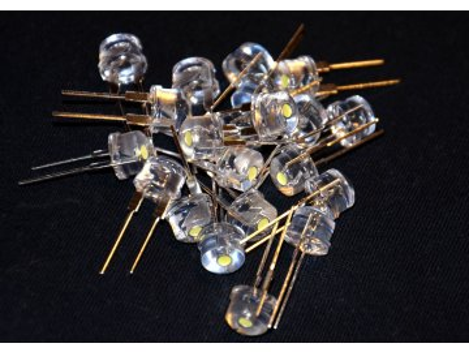 LED Strawhat 8 mm Green - Zelená