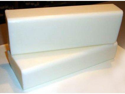 Mýdlová hmota s oslím mlékem