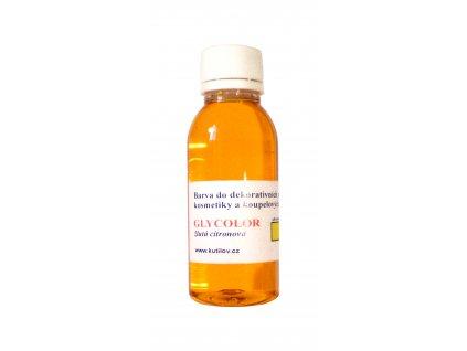 GLYCOLOR  žlutá citronová 35 ml