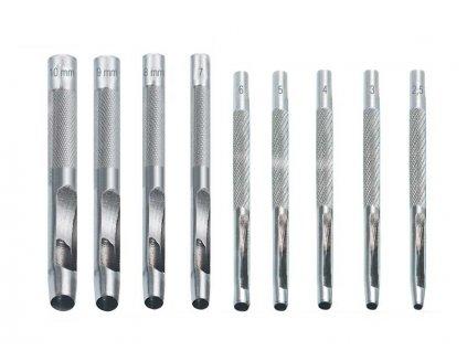 Děrovače sada 9 kusů 2,5-10mm