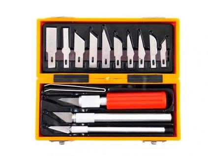Nože na vyřezávání 16 dílů PROFI