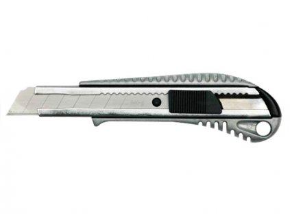Nůž ulamovací EXTOL PREMIUM kovový 18mm s výstuhou