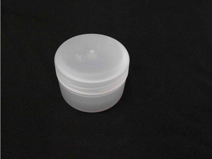 Kosmetická doza 30 ml dvouplášťová natural