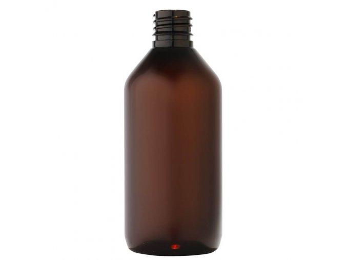 59 plastova lahvicka 115 ml hneda zavit g18x3 main