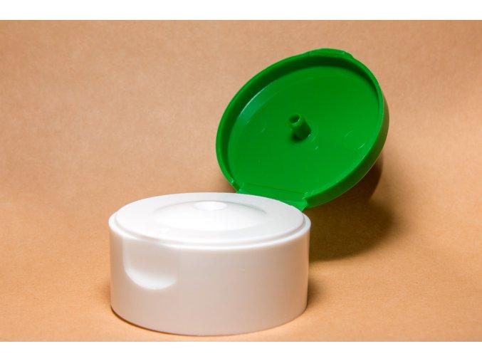 Uzávěr MIRA 24 mm zeleno-bílá