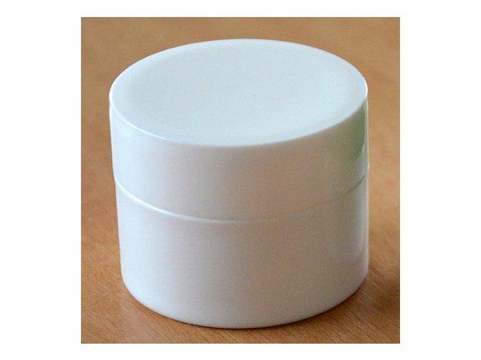 Doza - lékárenská 50 ml dvouplášťová bílé víčko