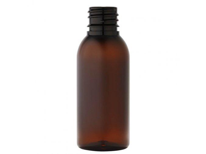 47 plastova lahvicka 35 ml hneda zavit g18x3 main