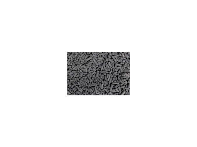Aktivní uhlí granulované průměr 3 mm váha 0,5kg