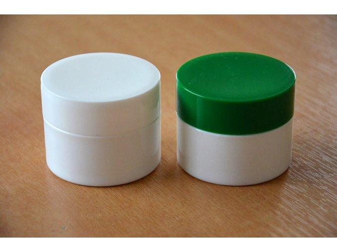 Doza - lékárenská 50 ml dvouplášťová zelené víčko