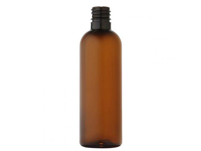 55 plastova lahvicka 100 ml hneda zavit g18x3 main