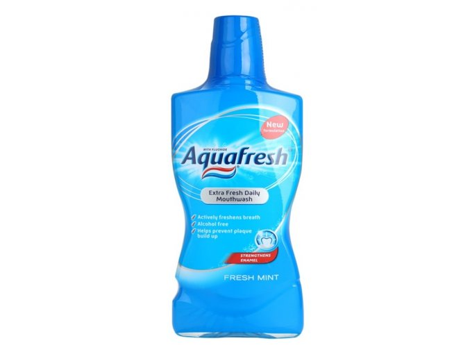Aquafresh Fresh Mint ústní voda 500 ml