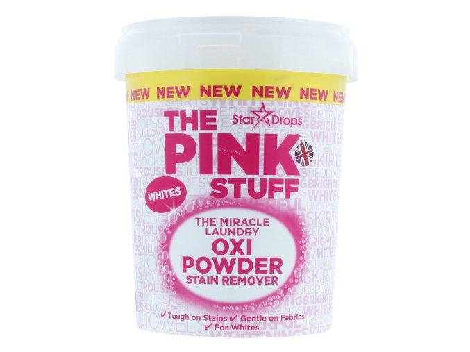 The Pink stuff OXI POWDER Zázračný prášek na skvrny na bílém prádle 1000 g