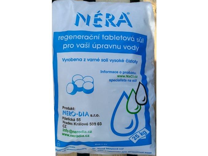 Tabletová regenerační sůl /N/25 kg