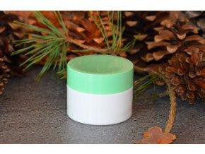 Doza lékárenská 50 ml dvouplášťová bledě zelené víčko 1
