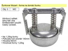 Forma na šunku, šunkovar Mozart