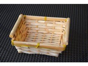 Miska na dárkové balení - vysoká malá čtverecová