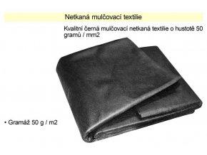 Netkaná textilie mulčovací 50g/m2