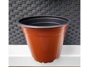 Květináč VCD 12cm TERRACOTTA BLACK