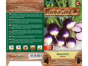 65956 Ředkvička kulatá fialovobílá DIANA
