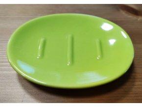 Keramická mýdlenka Daira zelená04