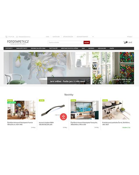E-shop fototapety.cz