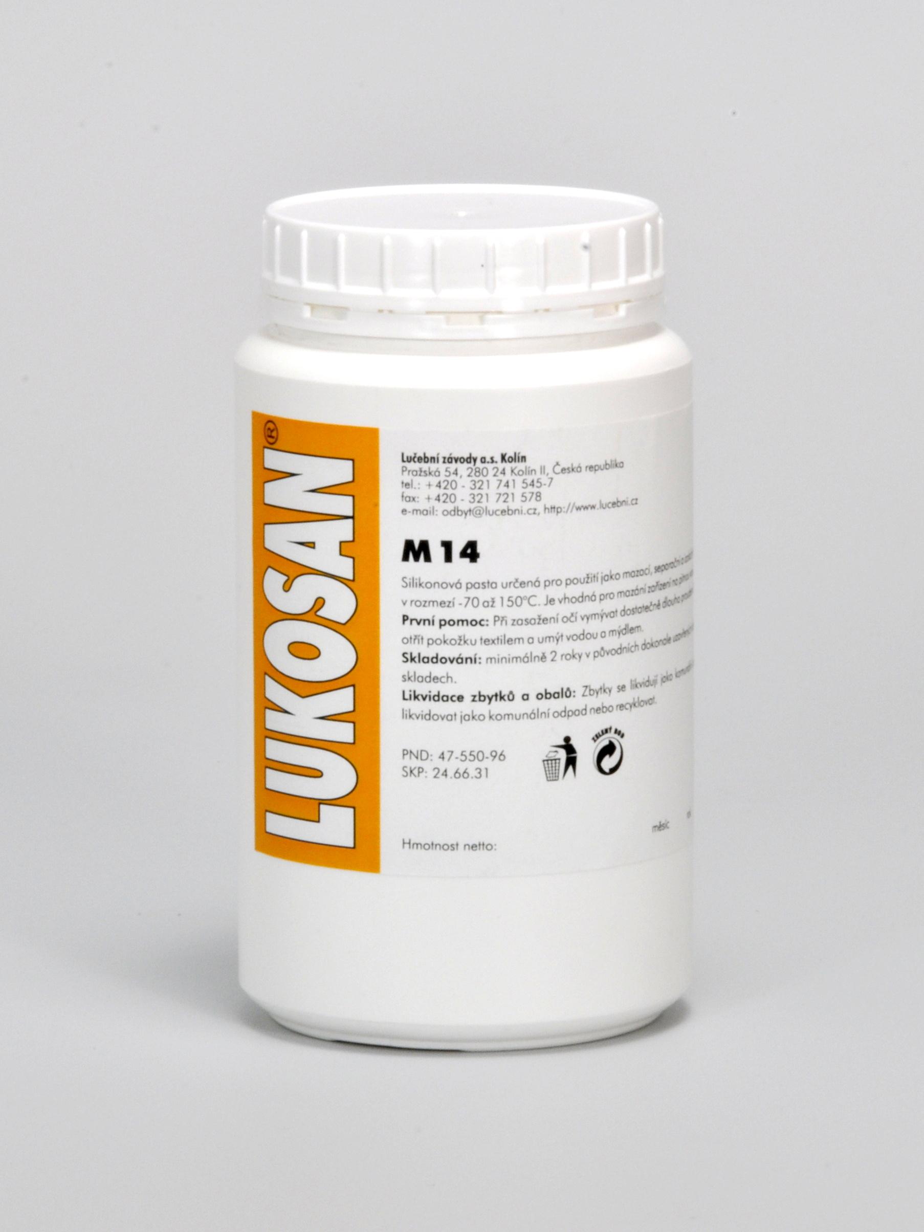Lukosan - ostatní chemie