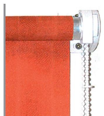 Náhradní díly na textilní roletky s navíjecí trubkou o průměru 17 mm