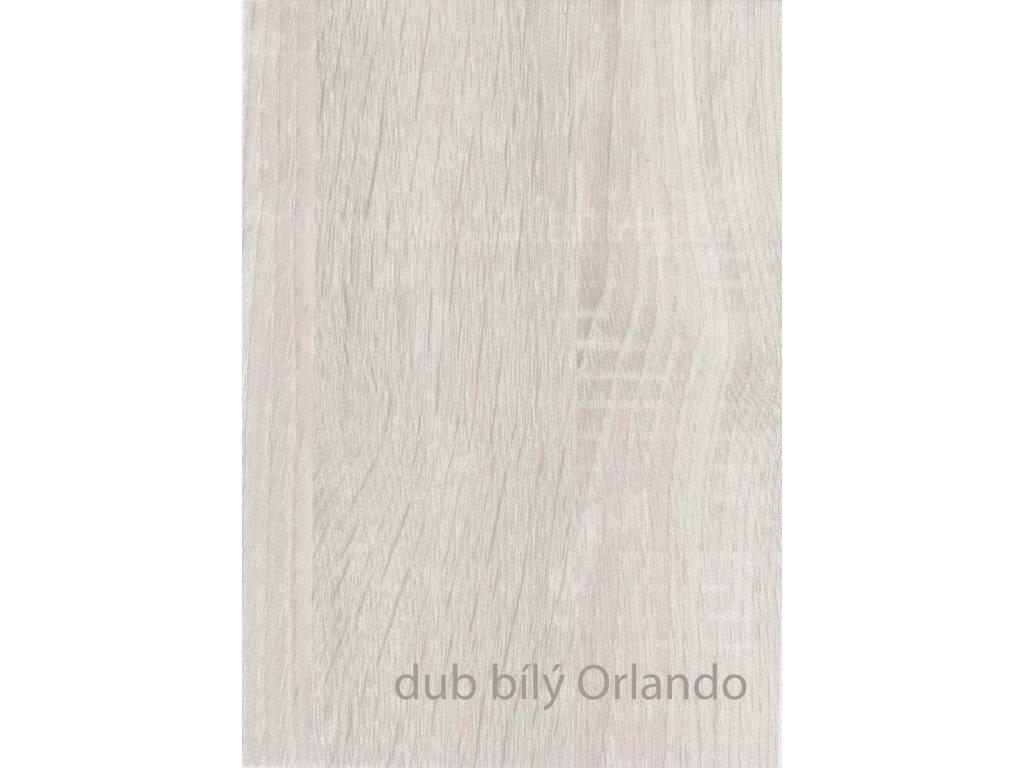 Profesionální renovační folie na dveře a nábytek - vzor Dub bílý Orlando