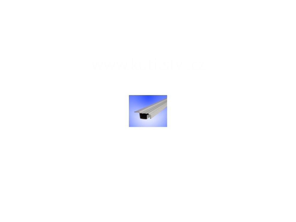 Válcovaný profil rámu sítě proti hmyzu ISSO OV 25x10mm s límcem