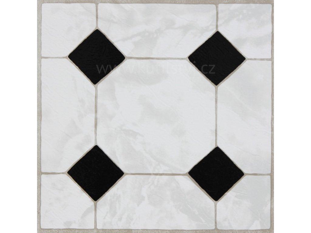 50924 podlahove samolepici ctverce mramor s ornamentem rozmer 30 5x30 5cm baleni 11ks 2745046